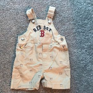 Other - Boston Red Sox overalls